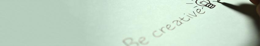 Be Creative Banner