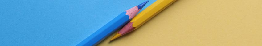 Pencil Crayon Banner