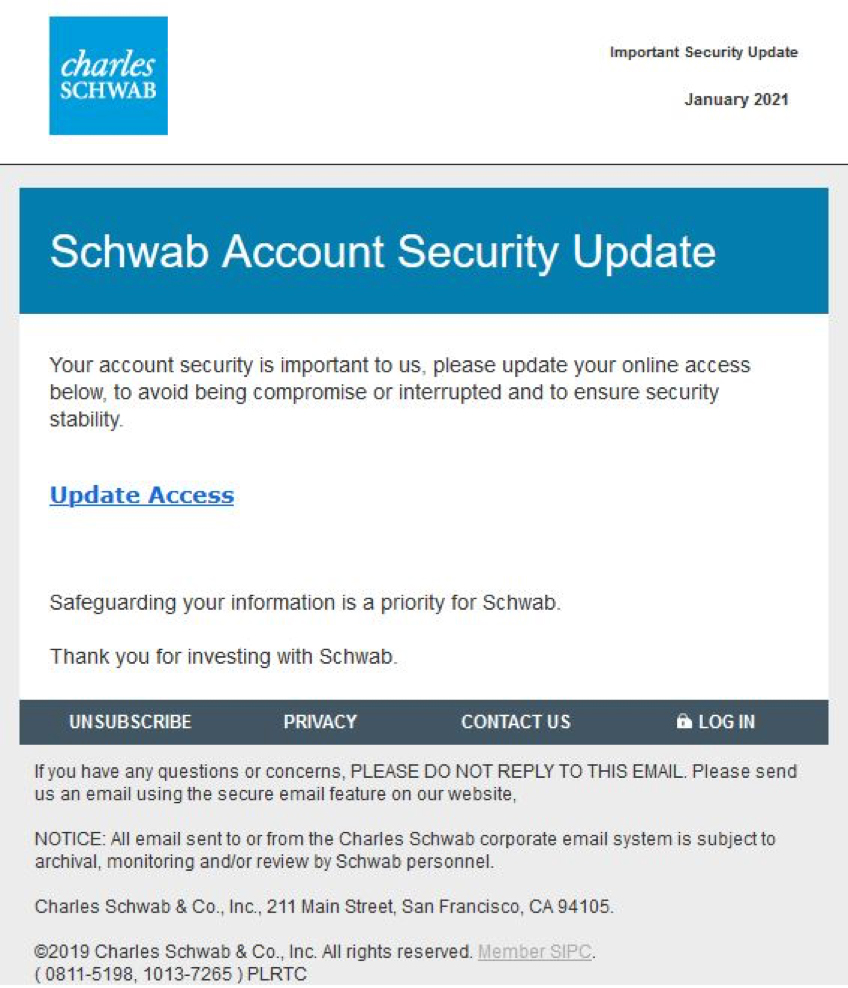 phishing screenshot