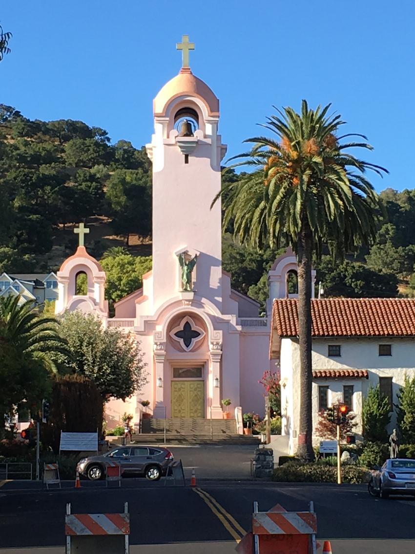 SanRahaelの聖堂