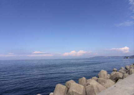 久しぶりの青空と入道雲