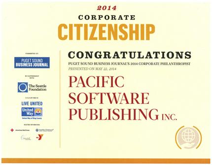 2014 PSBJ Corporate Citizen ...