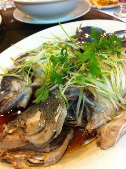 不思議な味と香りのお魚でした。