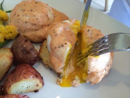 Poached Eggs La...
