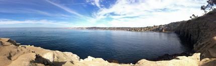 La Jollaの海と青空!