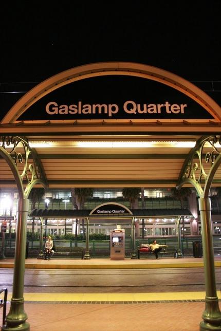 ガスランプの駅