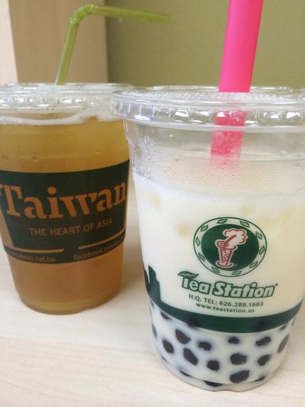左:Green Tea、右:M...