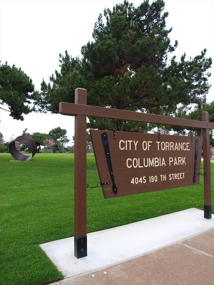 公園のサイン