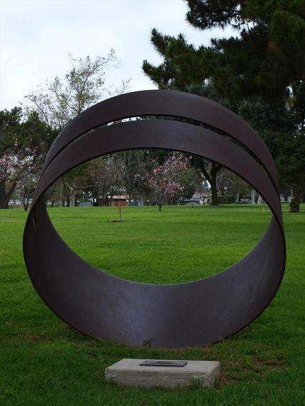 公園のオブジェ