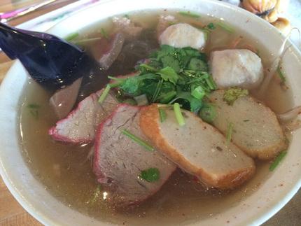 Tom Yum Noodles Soup