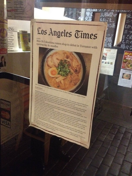 LA TIMESにも載ったよう...