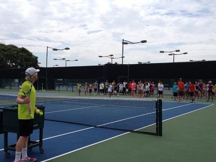 Nikeテニスキャンプ
