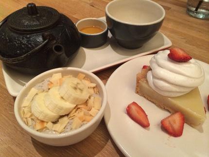 White Tea, Chia Seed Pudding, ...