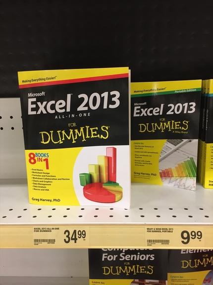 Excelを本買って学ぼうとす...