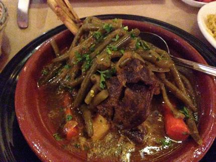 Berber Lamb Shank Tagine