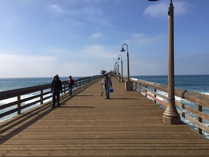 インペリアルビーチにある桟橋