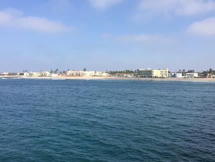 北側の海岸