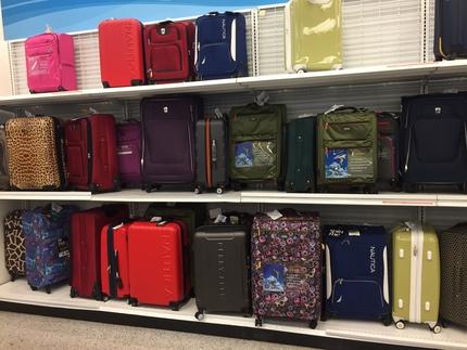 スーツケースも格安