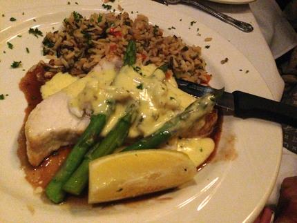 Fresh Swordfish Steak Oscar-...