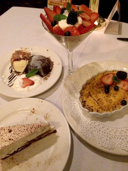 Chocolate Lava Cake, Mixed Be...