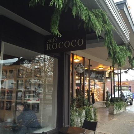 シアトル:Caffe Roco...