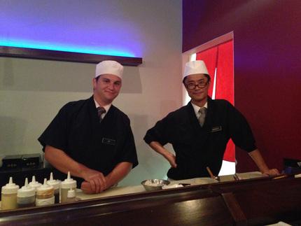 寿司シェフTJとMASATOさ...