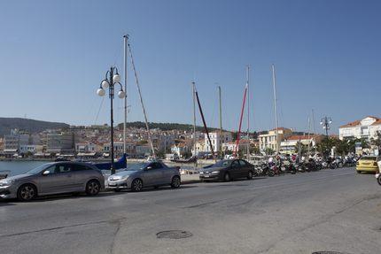 ミティリニ島の街