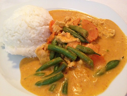 Panang Curry(ココ...
