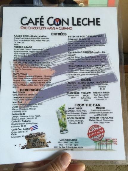 シアトル:Cafe Con L...