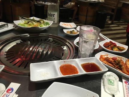 韓国レストランに行くとうれしい...