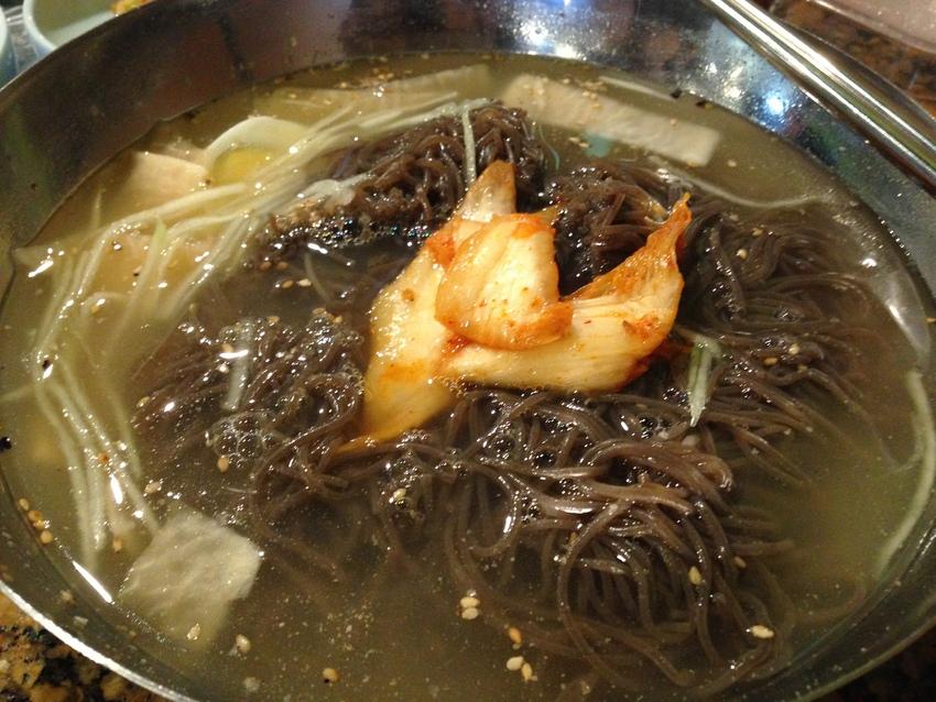 韓国冷麺 とてもおいしい、一番...
