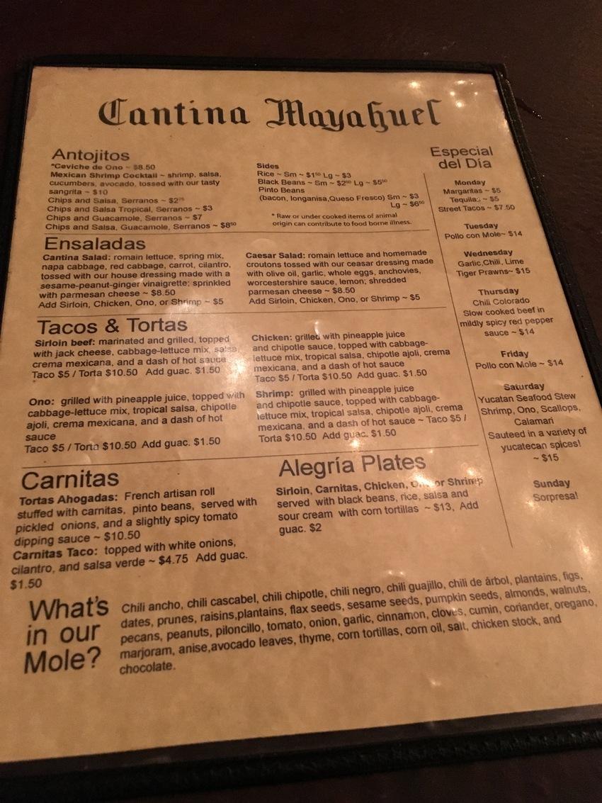 サンディエゴ:Cantina ...