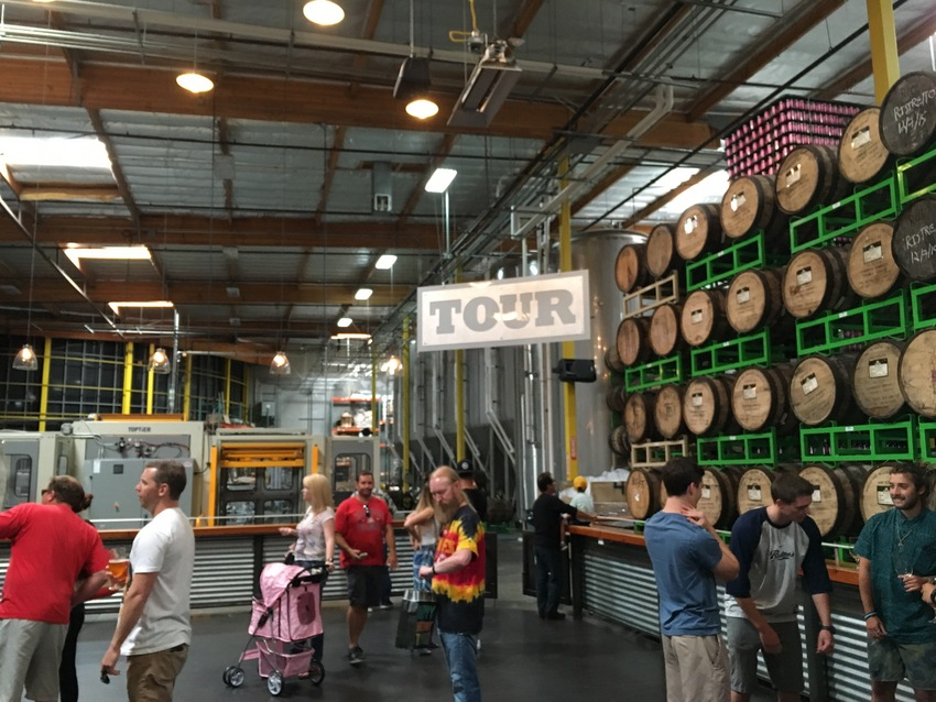 ビール工場の見学もできます!