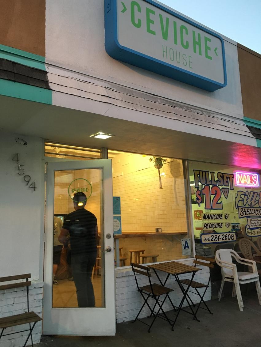 サンディエゴ:Ceviche ...