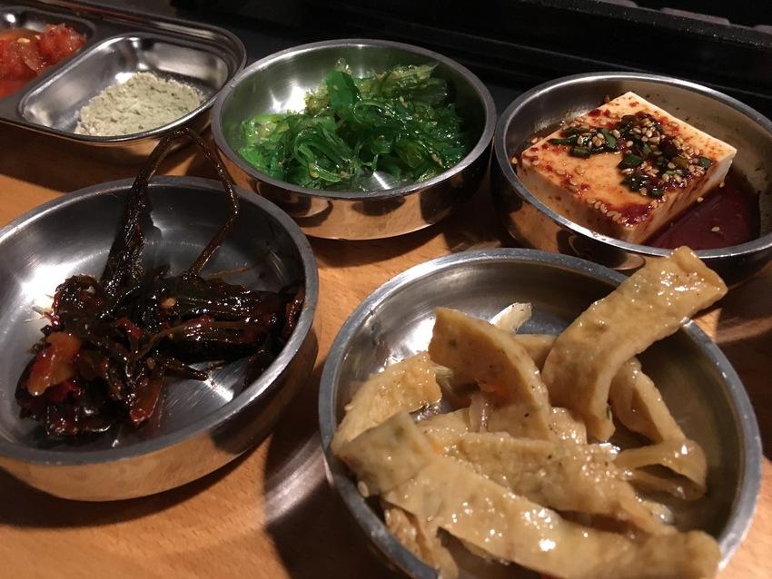 韓国料理の定番、パンチャン
