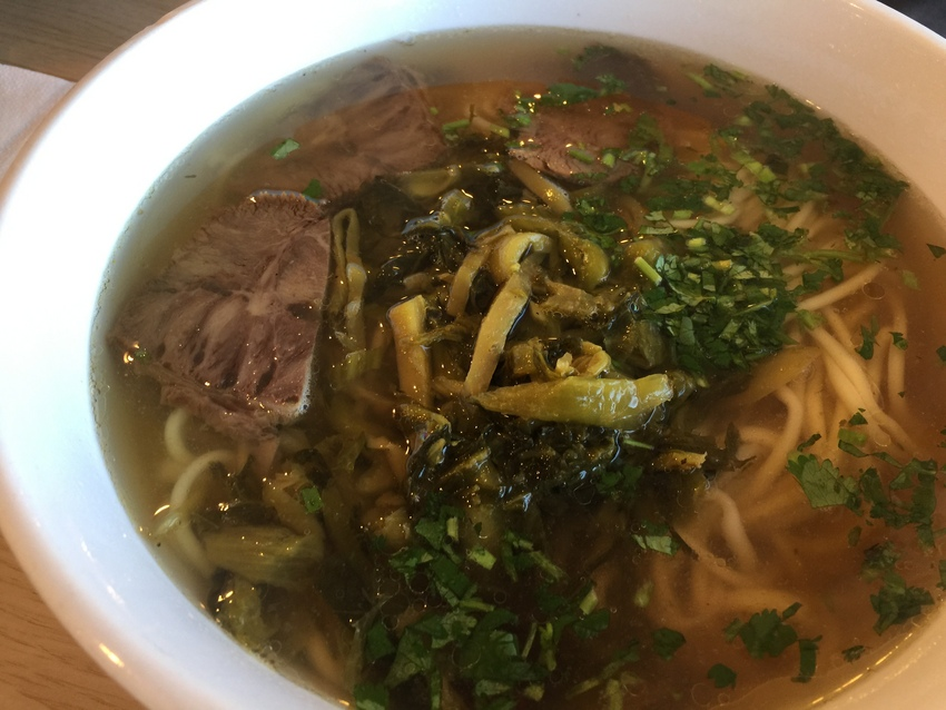 Beef & Sour Cabbage Noodle S...