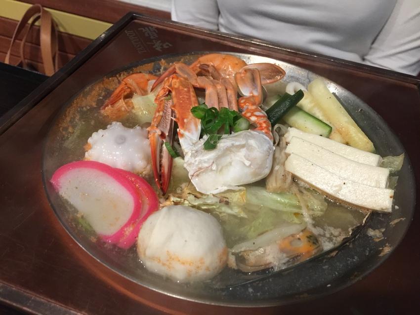 Seafood Fillet Hot Soup