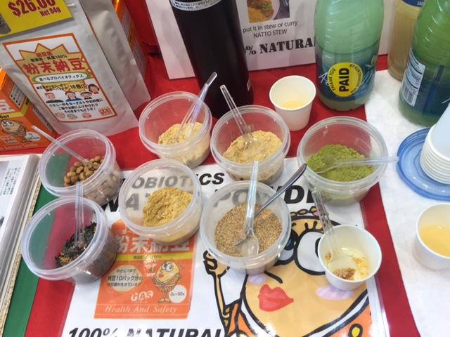 ロサンゼルス:粉末納豆で健康に