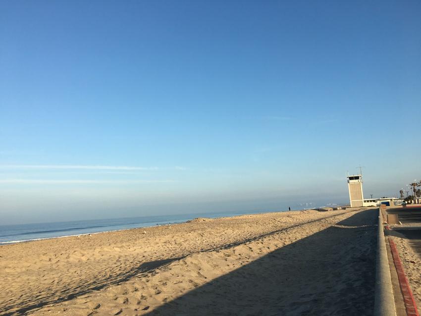 コロナドのビーチ