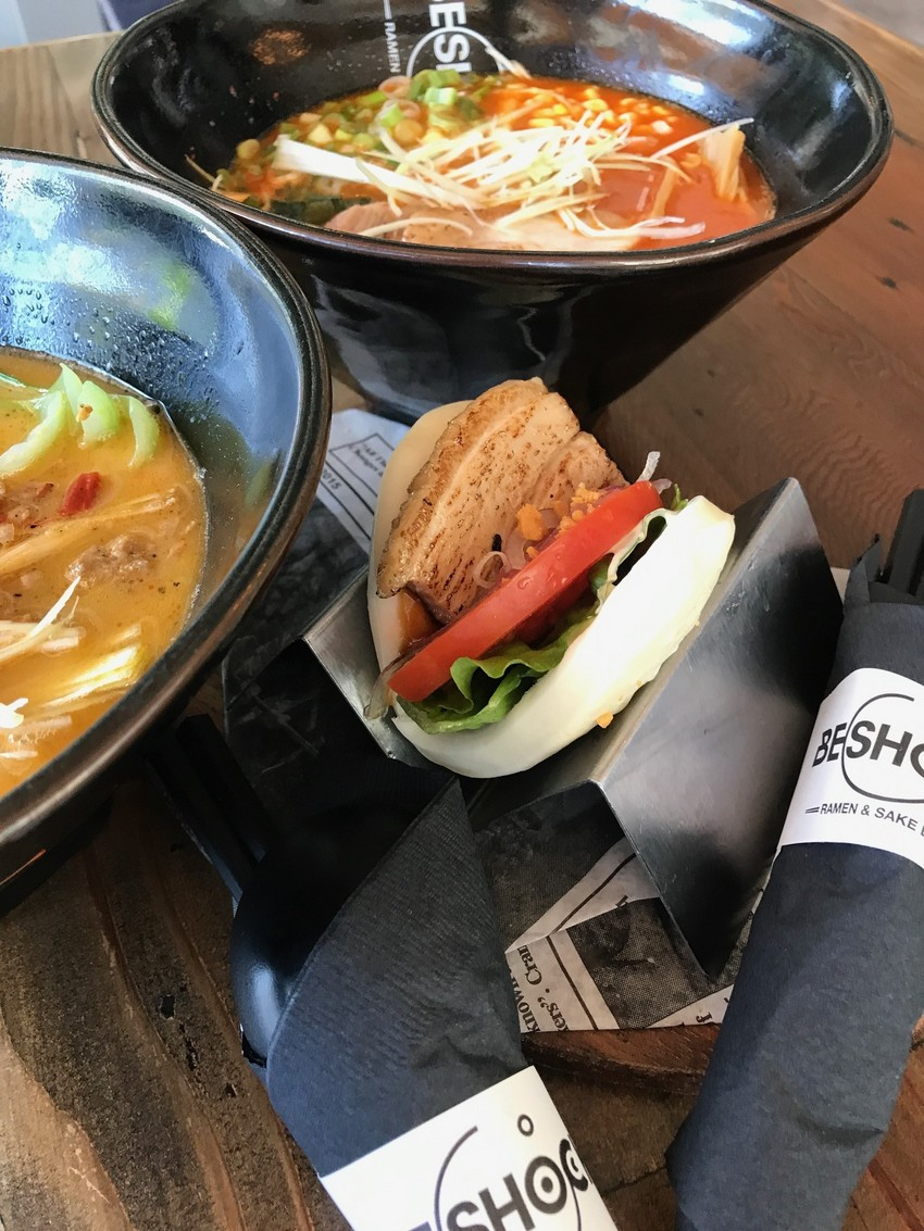 スパイシー味噌ラーメン&担々麺...