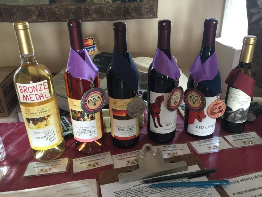 賞をもらっているワインも