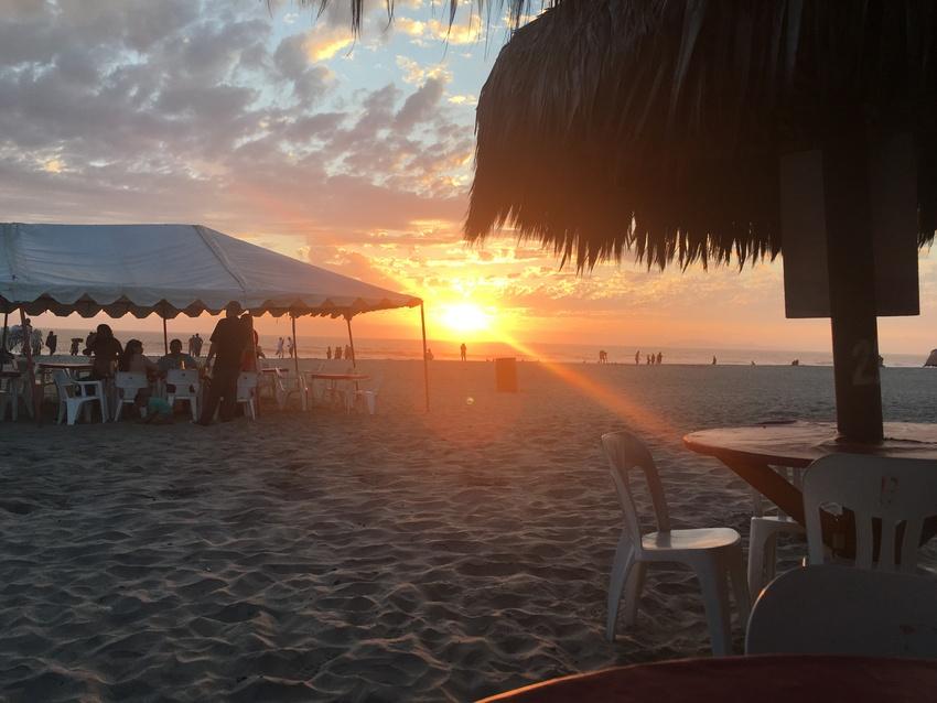 夕陽が美しいRosaritoの...