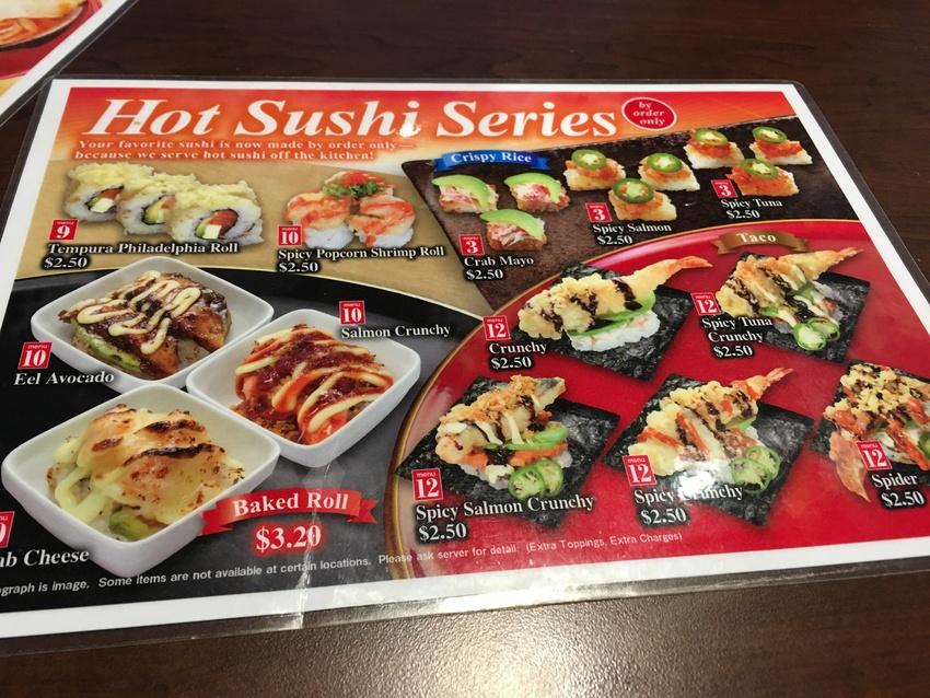 ホット寿司シリーズ