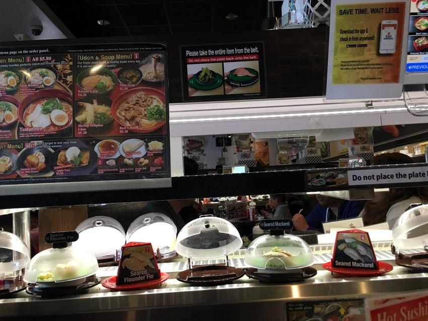 サンディエゴ:くら寿司 レスト...