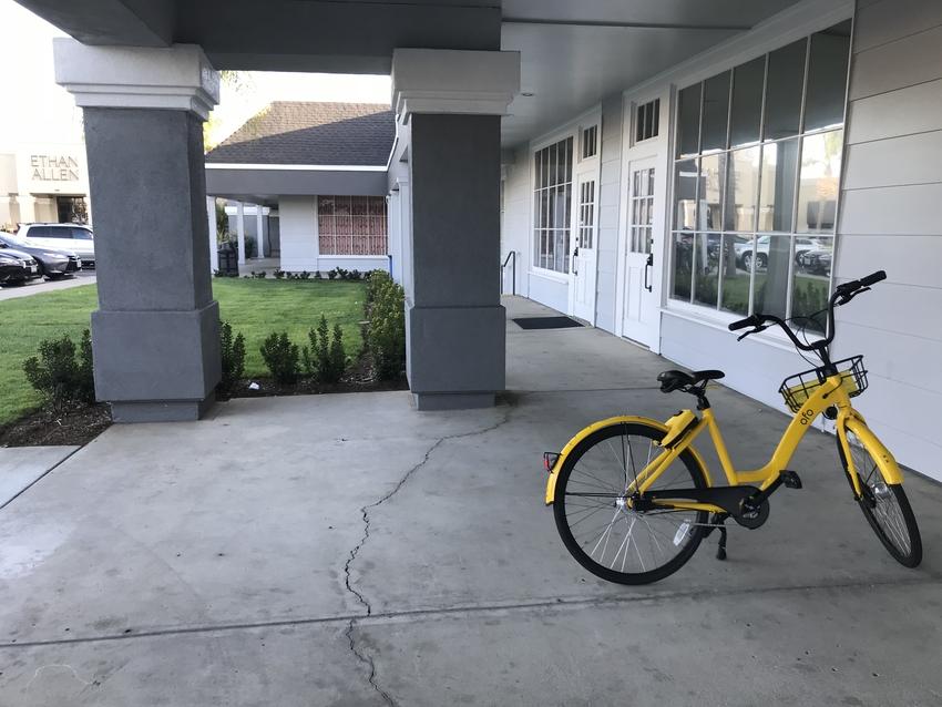 ofo社の自転車