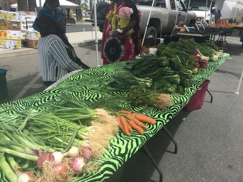新鮮な野菜がスーパーなどより安...