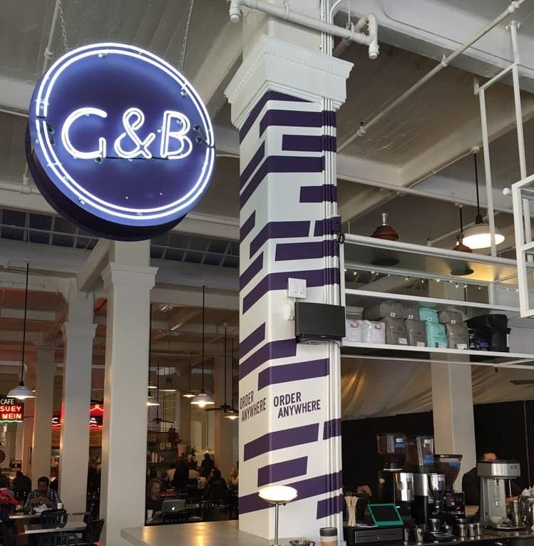 ロサンゼルス:G&B Coff...
