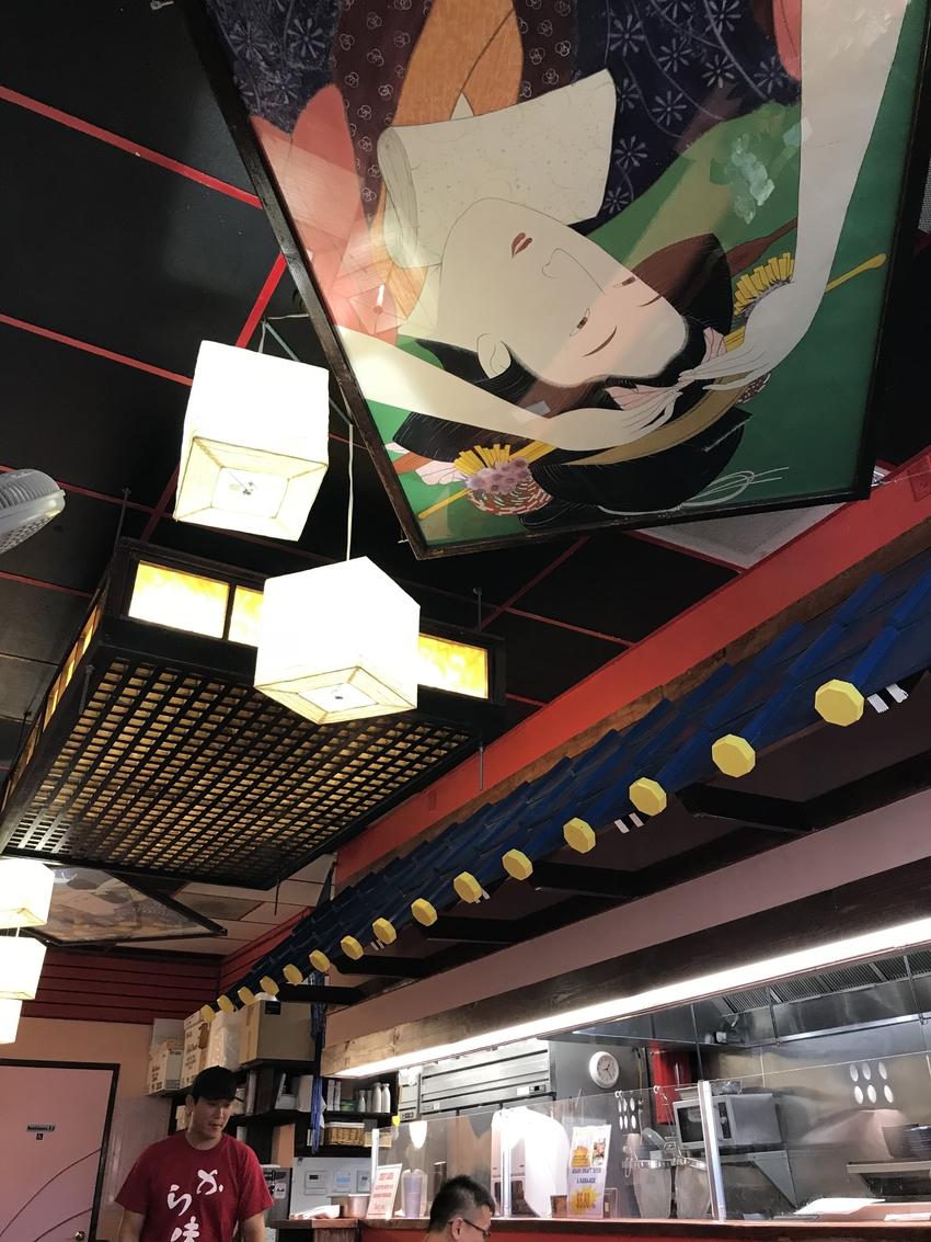 天井も雰囲気のある感じ
