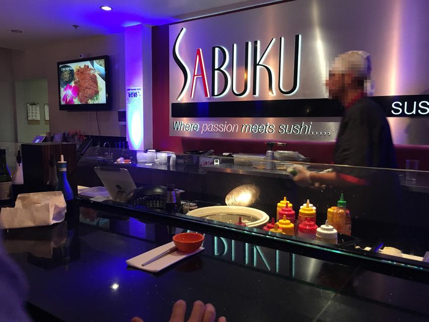 寿司バー席