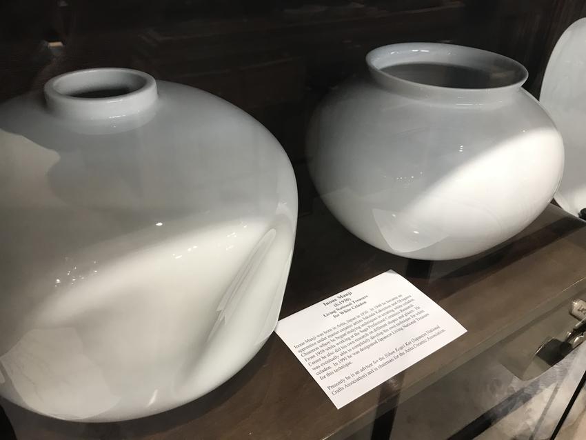 人間国宝、井上 萬二の作品